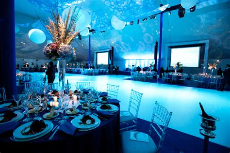 Wedding Theme Idea Scuba Wedding by The Flower Firm Handled Decor And Provided Lighting