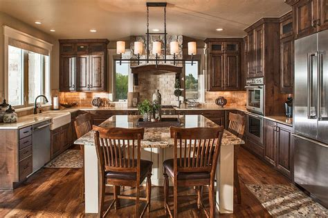 home plans with large kitchens craftsman house plans the plan collection