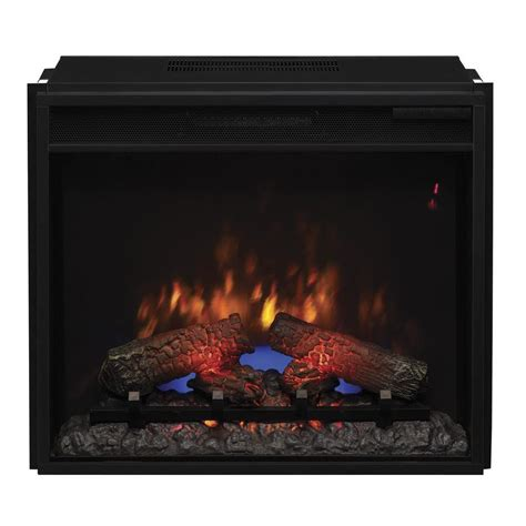 Electric Fireplace Kit by 23 In Electric Fireplace Insert With Flush Mount Trim Kit