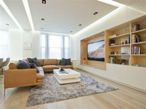 moderne beleuchtung wohnzimmer indirekte beleuchtung