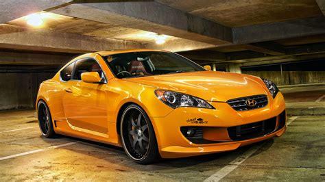 hyundai vehicles cars vehicles hyundai hyundai genesis orange cars
