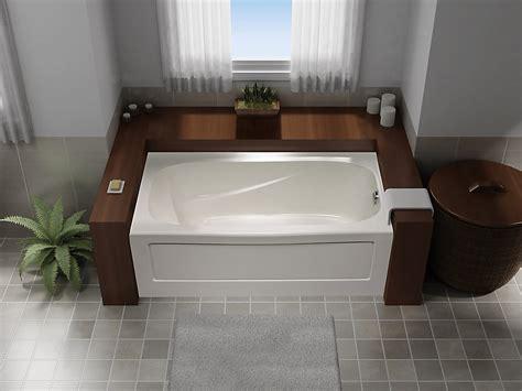 mirolin tuscon  acrylic soaker bathtub  hand