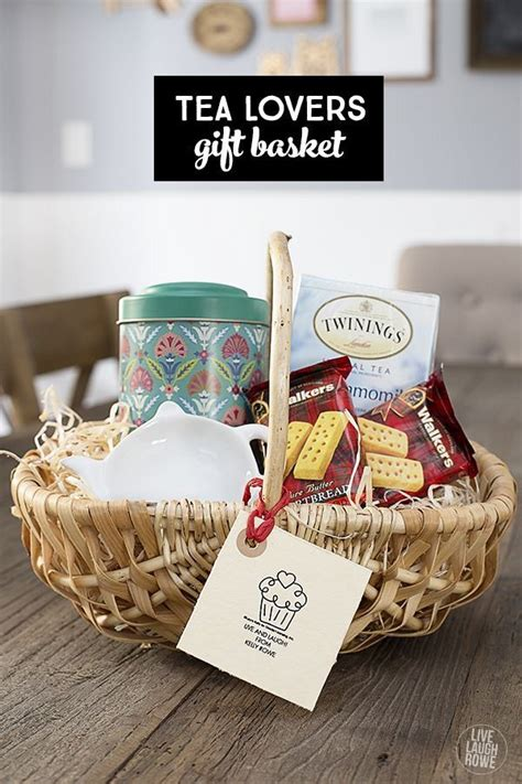 25 best ideas about tea gift baskets on pinterest gift