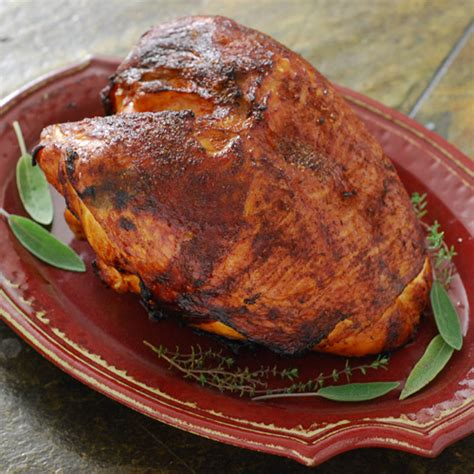 grilled whole turkey breast recipes grilled turkey breast bigoven