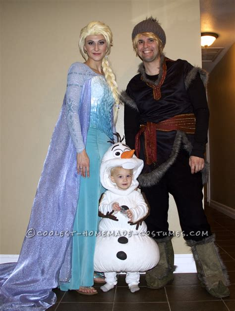 Kostum Kristoff Frozen by Authentic Frozen Family Costume Elsa Olaf And Kristoff