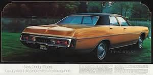 1971 Dodge Polara 1971 Dodge Catalog Part 1