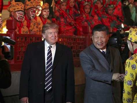 donald trump visit china taiwan watches anxiously as president trump begins his