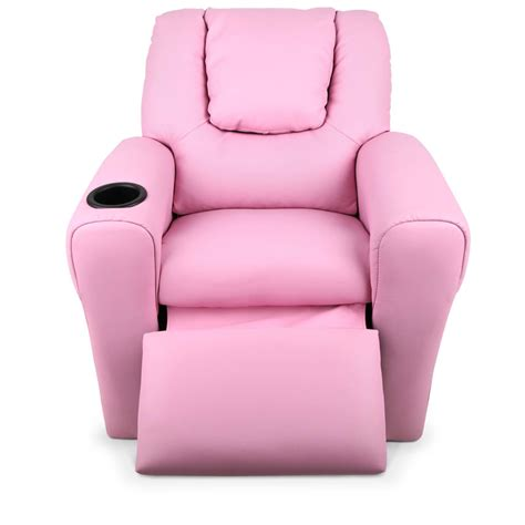 kids pink recliner chair kids padded pu leather recliner chair pink