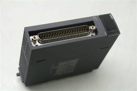 mitsubishi qx81 digital input module w terminal board a6tbx36 e late 2013 ebay