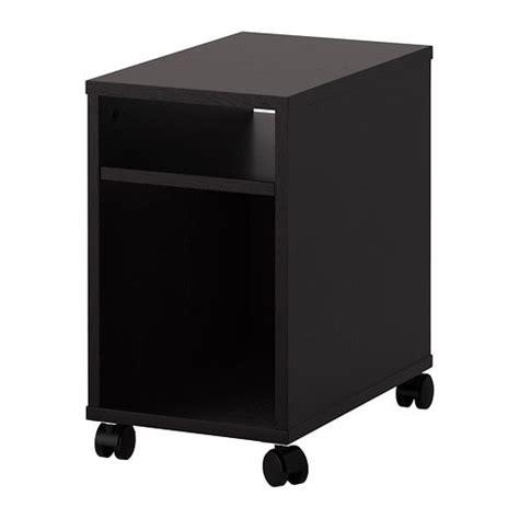 Black Brown Bedside Table Oltedal Bedside Table Black Brown Ikea