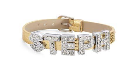 leather name bracelet always by diaz