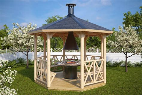 Pavillon 5x3 by Bbq Gazebo Lotte L 9 5m 178 3 5 X 3 5 M Summer House 24