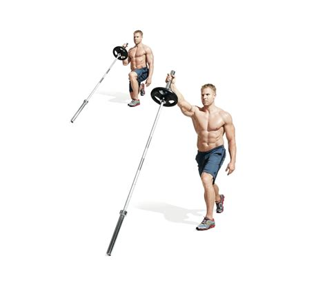 the best barbell only workout
