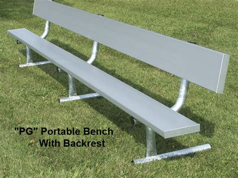 aluminium bench seating benches with steel legs national recreation systems