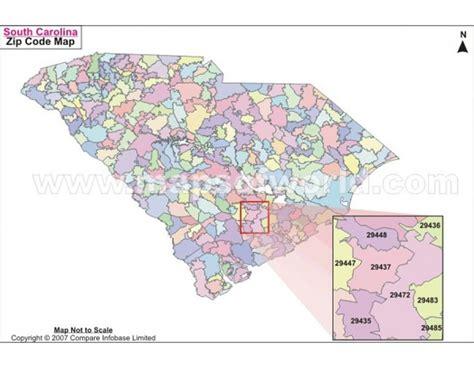 map carolina area codes buy south carolina zip code map us maps