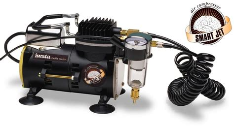 iwata deluxe airbrush set eclipse hp sbs compressor dvd foxy studio