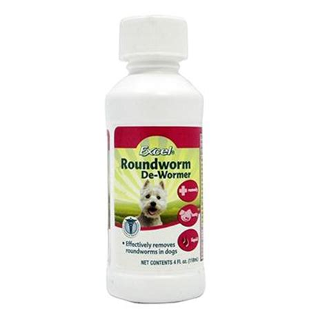 roundworm medicine for dogs 8 1 excel 4 ounce and cat roundworm treatment wormers at arcata pet supplies