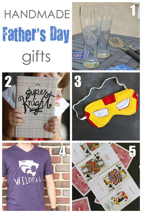 Handmade Gifts For Dads - kid crafted storybook for lou