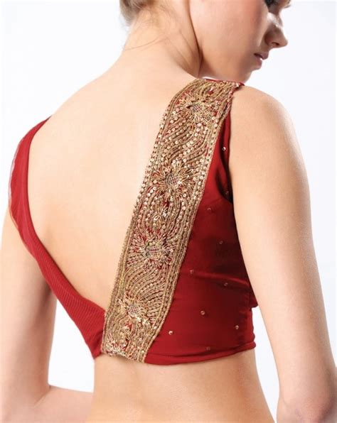 Simple Etnic Blous the simple choli has become a high fashion statement saree blouse designs shaadi
