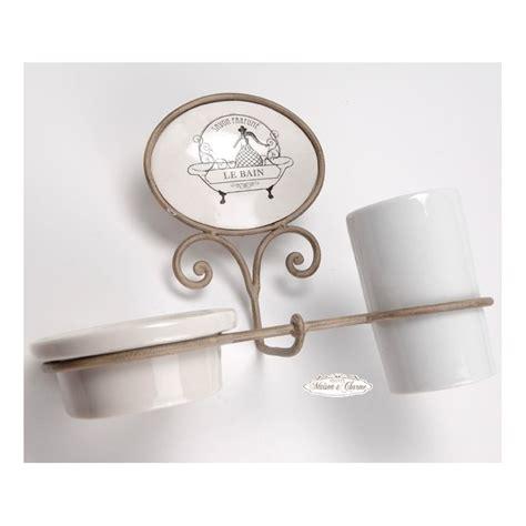 accessori bagno provenzali porta sapone p spazzolino ecru bagno provenzale