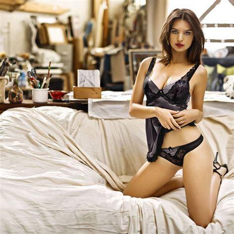 Bedroom Design Green - emily ratajkowski gets insanely for yamamay lingerie