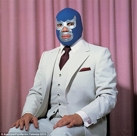 Blue Luchadore captivating images taken from mexico s rich history of