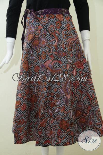 Rok Lilit Songket Keren bawahan batik model lilit trend busana wanita masa kini rok batik motif unik keren dan modern