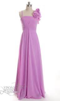 Floral one shoulder purple bridesmaid dresses dvw0016 vponsale