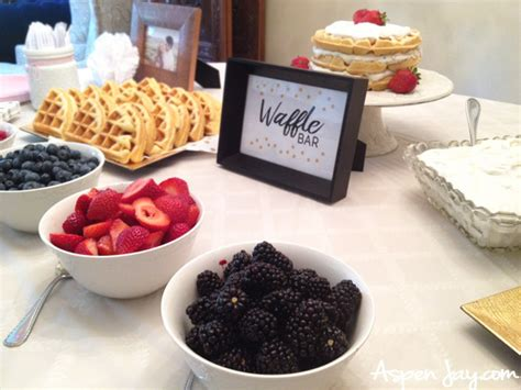 toppings for waffle bar waffle bar toppings 28 images eggo waffle bar for