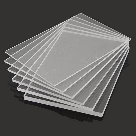 Sale Acrylic Sheet Bening A4 Size Tebal 6mm A5 148 215 210mmmm Transparent Acrylic Sheet Cutting Carving