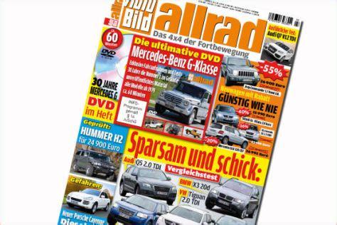 Auto Bild Allrad 3 by 30 Jahre G Klasse Auf Dvd Autobild De