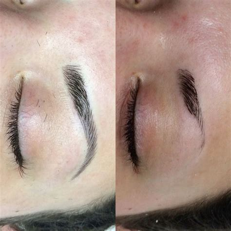 tattoo eyebrows hair by hair 266 best microblading eyebrows images on pinterest