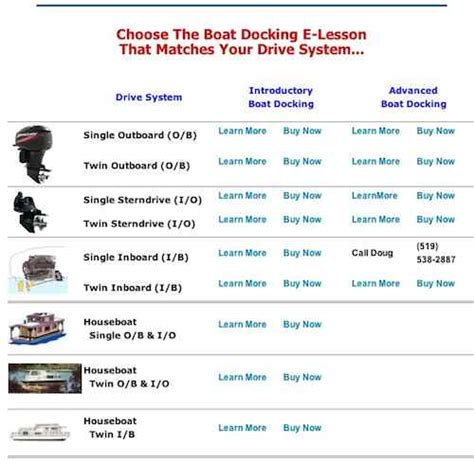how many different types of boats houseboat docking lessons learn to dock single or twin
