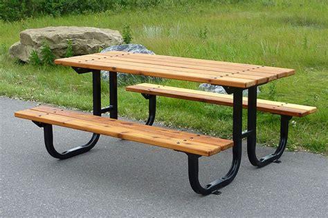 series b1 picnic tables custom park leisure