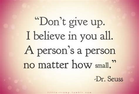 a person s a person no matter how small by dr seuss like success