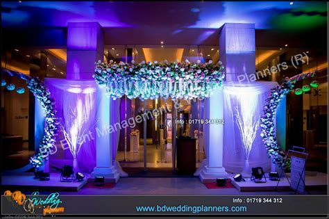 Wedding & Reception Stage Decor   BD Event Management