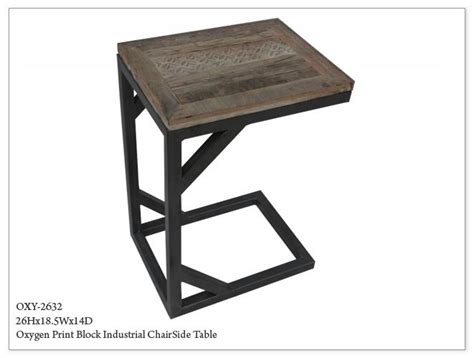 Industrial Side Tables by Oxygen Industrial Side Table Horizon Home Furniture