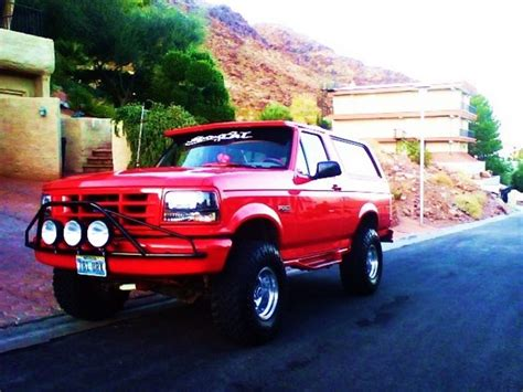 cooopsta  ford bronco specs  modification info