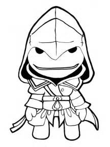 little big planet coloring pages az coloring pages