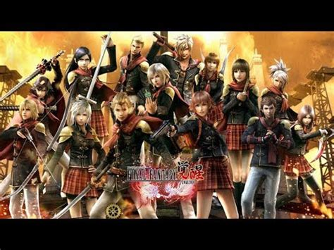 fb final fantasy awakening bahasa indonesia final fantasy awakening indonesia