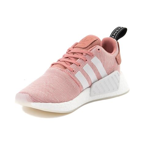 womens adidas nmd r2 athletic shoe pink 436513