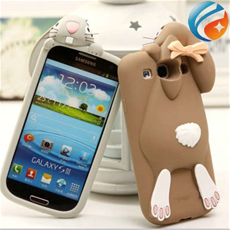 cute themes for samsung duos cute cartoon bunny rabbit soft silicone case for samsung