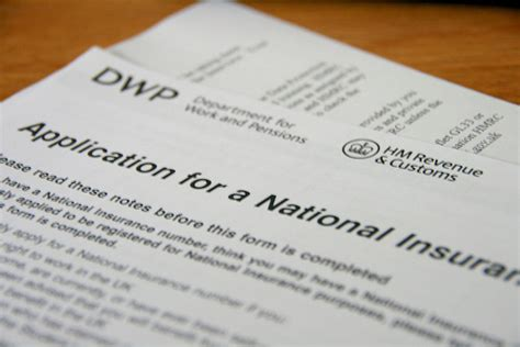 National Insurance Number Letter Of Confirmation How To Get A National Insurance Number In The Uk