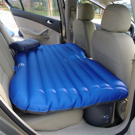 car inflatable bed portable inflatable travel holiday cing car seat sleep