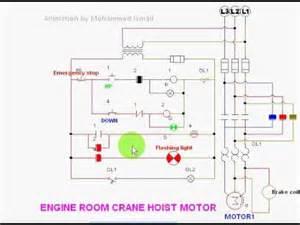 crane hoist motor youtube