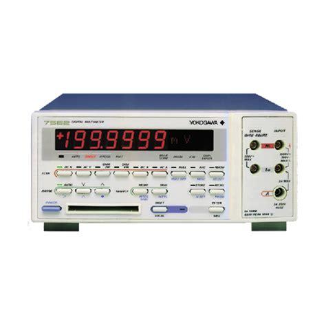 Multimeter Yokogawa digital multimeters 7561 7562 digital multimeters other test measurement instruments