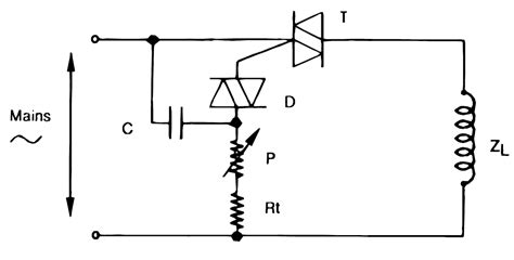 heater inductive load how to use triacs for controlling inductive loads like transformers and ac motors