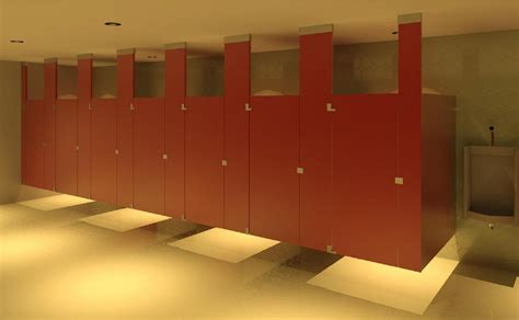 Ceiling Mounted Toilet Partitions by Bim Objects Families