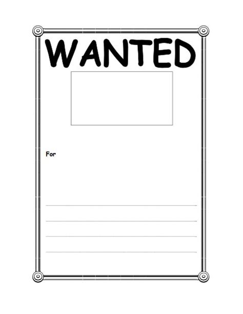 printable wanted poster template free 29 free wanted poster templates fbi and west
