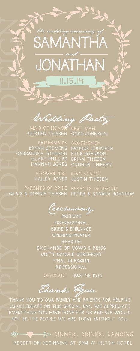 unity card template best 25 wedding program templates ideas on